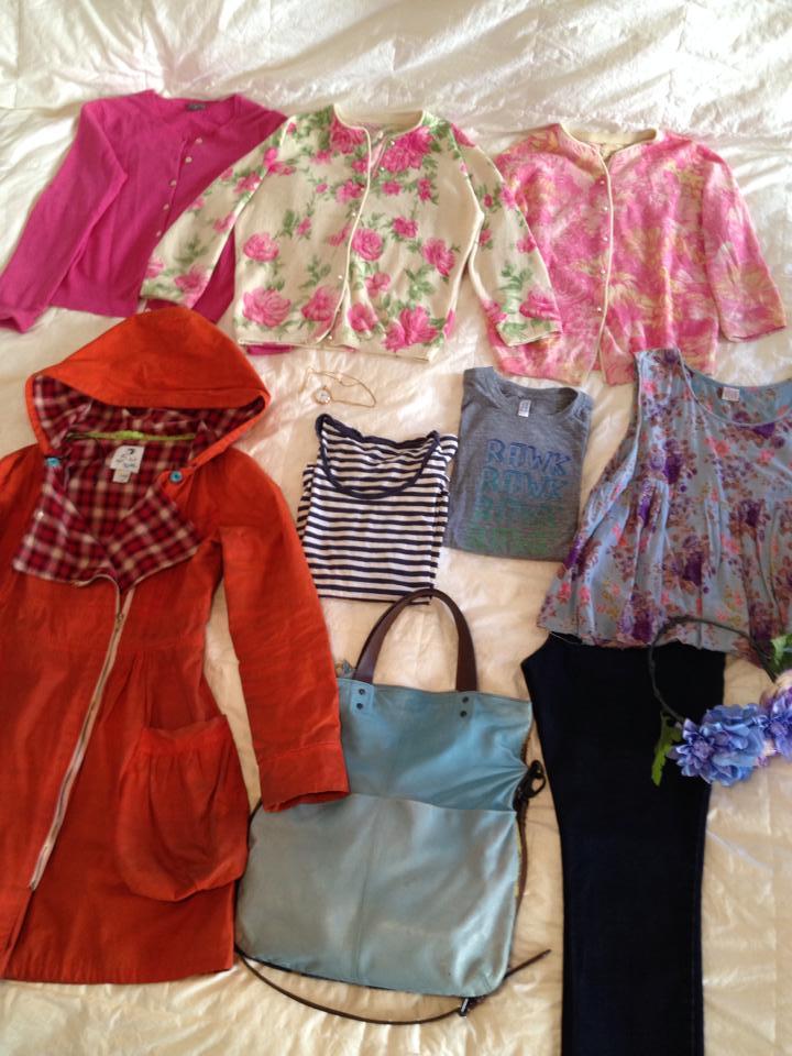 Elizabeth Crane's writing wardrobe