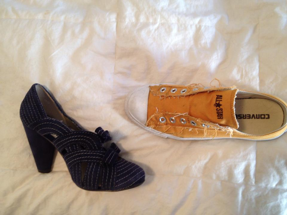 Elizabeth Crane's shoes